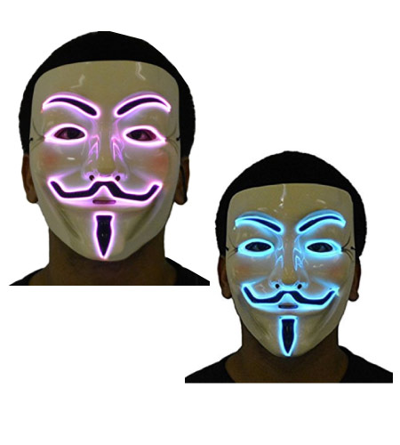V for Vandetta couple masks - Simple - halloween-couples-costumes