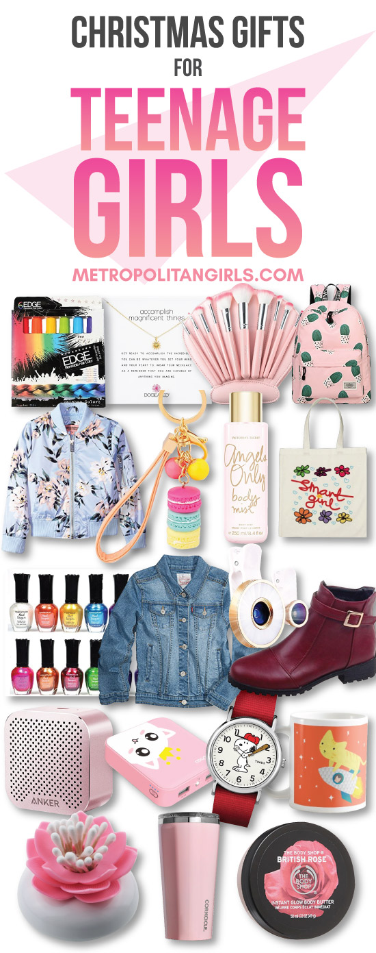Top 20+ Christmas Gift Ideas for Teenage Girls 2019