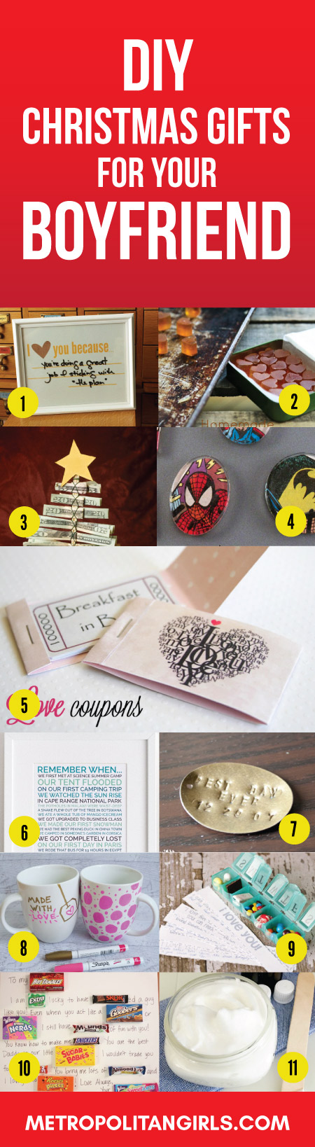 2017 diy christmas gift ideas for boyfriend