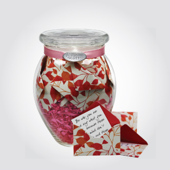 Love message jar