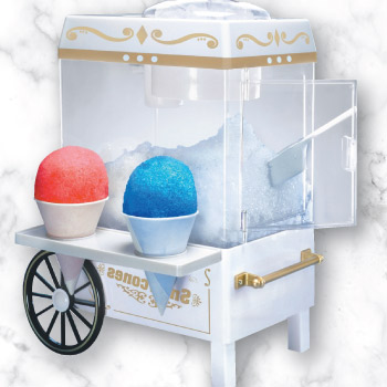 Snow cone ice maker
