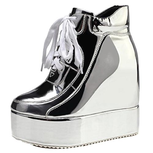 Lace Up Chelsea Punk Ankle Boots
