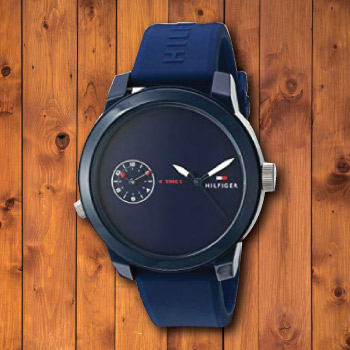 Tommy Hilfiger Denim Quartz Movement Watch for Guys