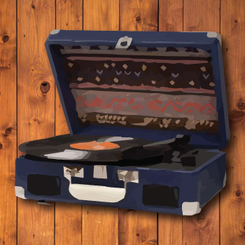 Crosley Cruiser II Portable Vinyl Player