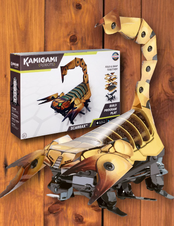 Build a robot - Kamigami - Scorpion - Gifts for 14 Year Old Boys