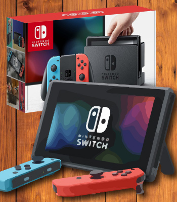 nintendo switch - hottest gaming console of 2017 and 2018
