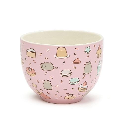 pusheen cat snack bowl