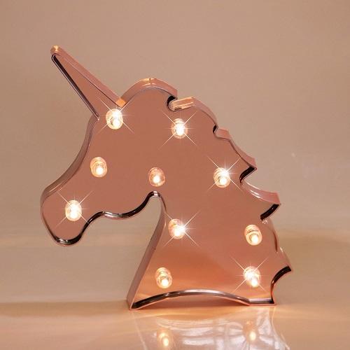unicorn decorative marquee sign