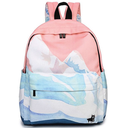 a2505bc246 Backpack - Cute Back to School Supplies for Teen Girls Sankill Canvas  Backpack