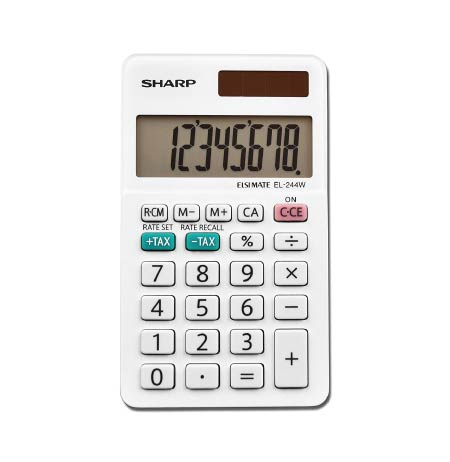 sharp calculator. cheap minimalist back to school supplies