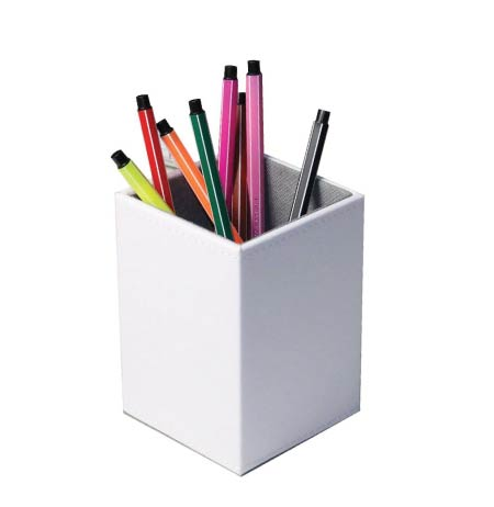 Minimalist stationery organizer. Back to school supplies list