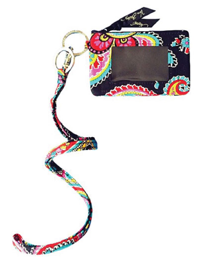 15 Cute Vera Bradley School Supplies - lanyard