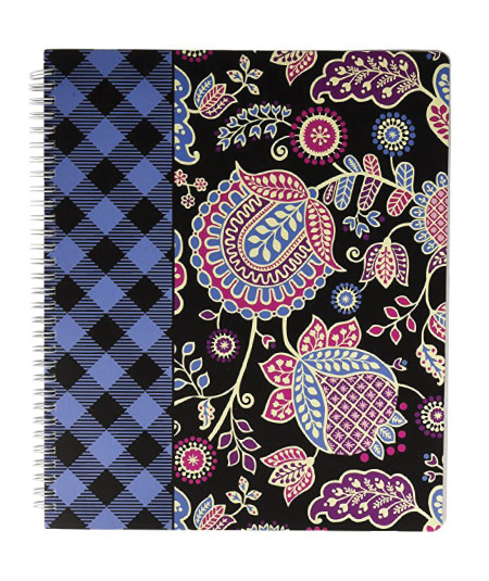 15 Cute Vera Bradley School Supplies - notebook with pocket