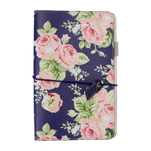 girly floral vintage planner office supplies x productivity tool