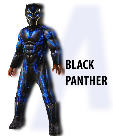 black panther - boy halloween costume