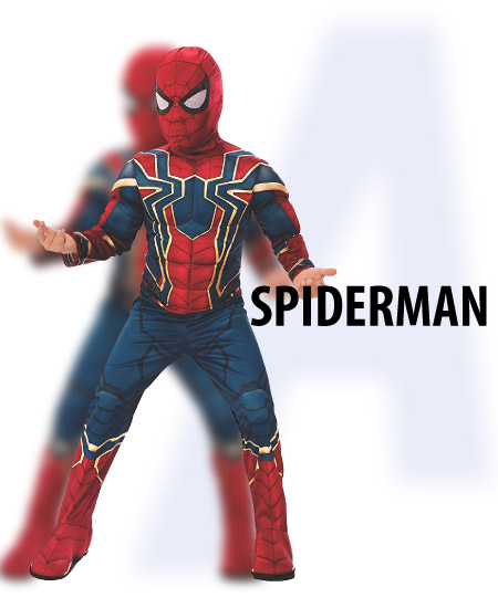 spiderman - tween-boys-halloween-costume-ideas