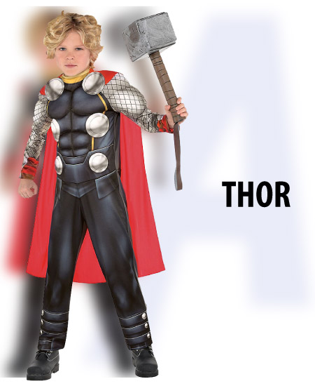 tween boy thor halloween costume