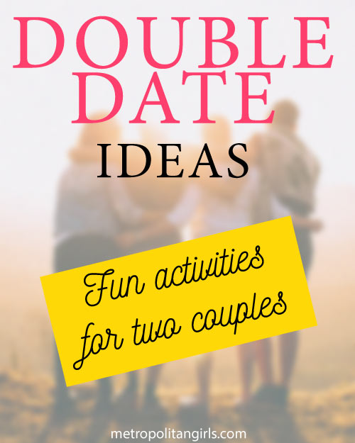 double date night ideas