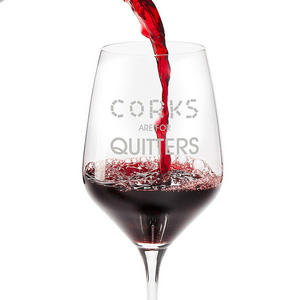 corks are for quitters #wine #winelover #wineglasses