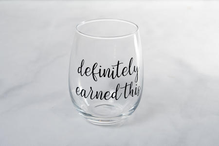 definitely earned this #wine #winelover #wineglasses