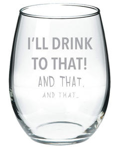 I'll drink to that! and that, and that.. #wine #winelover #wineglasses