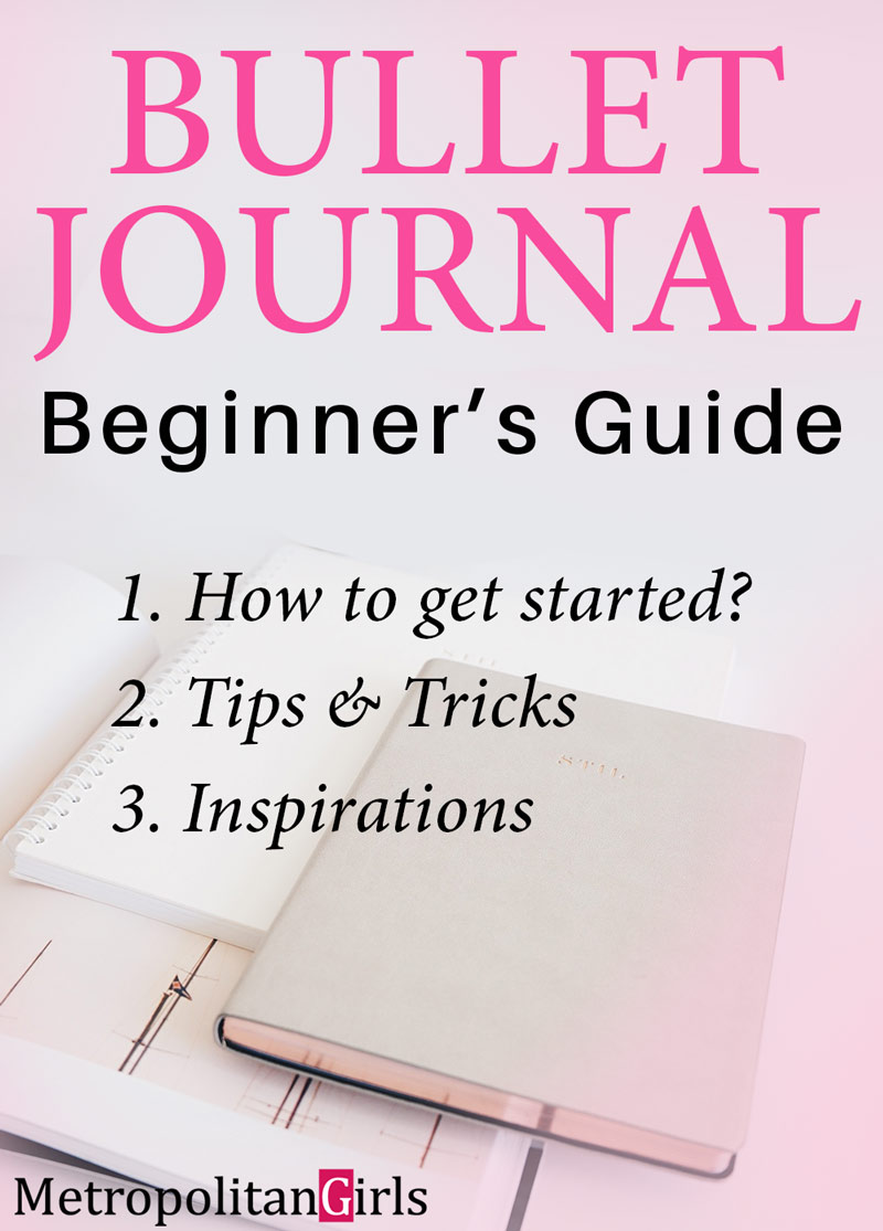 beginner's guide to bullet journal