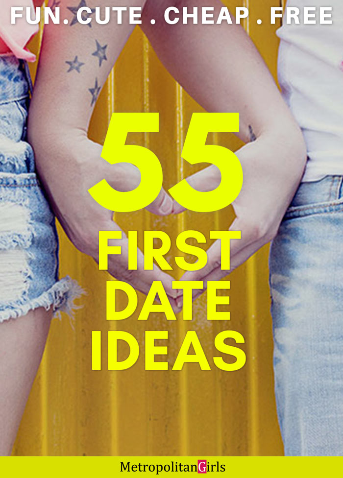 first date ideas pin image