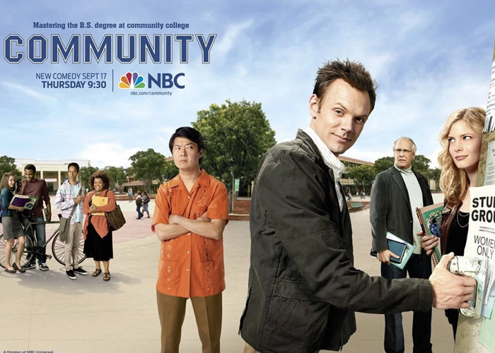 community is the office college edition