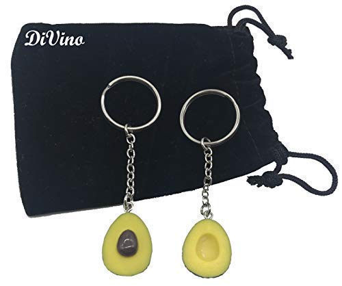 Matching Avocado Funny Keychains For Couples