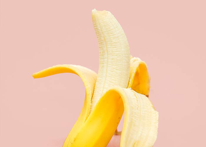 banana mood fact - high in nutrients and Vitamin B6, eating a banana is a great way to make you feel better