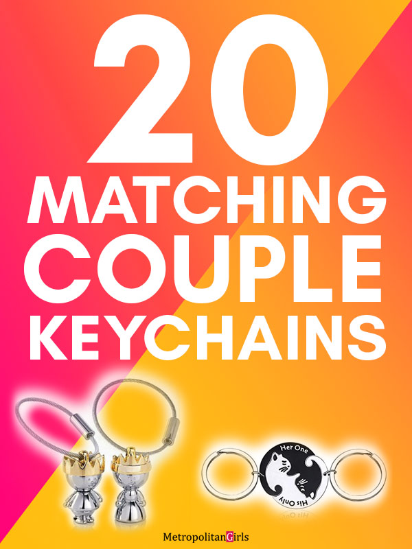 20 Cute (And Matching) Couple Keychains
