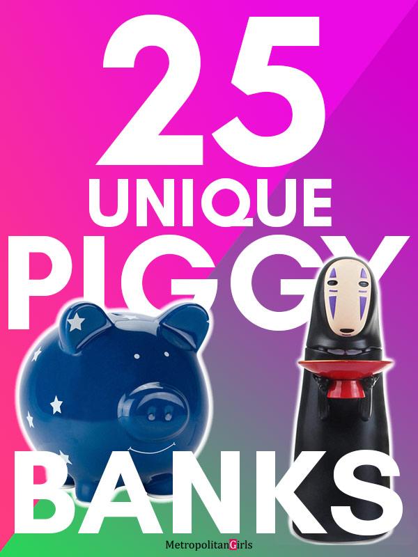 25 Piggy Banks