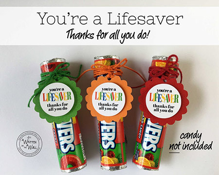 Employee Appreciation Gifts: Cheap Thank-You Tags
