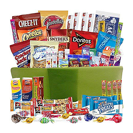 assorted snacks - gifts for employees