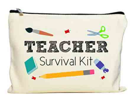 Teacher Survival Kit Makeup Pouch | End-of-Year-Ideas-Gifts-For-Teachers