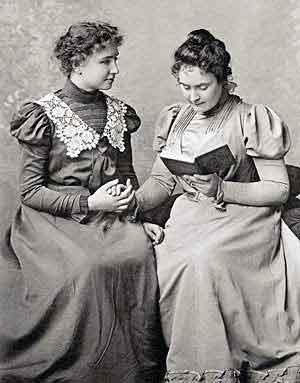 Keller and Anne Sullivan | Helen Keller Biography