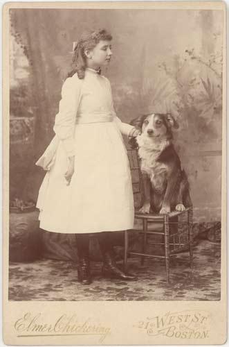Keller and Childhood Dog | Helen Keller Biography
