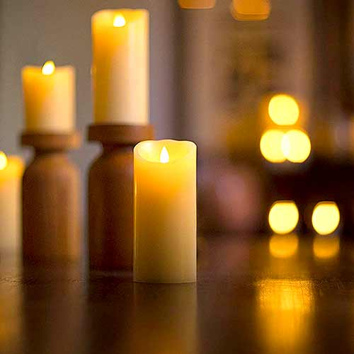 flameless candles | hostess gifts