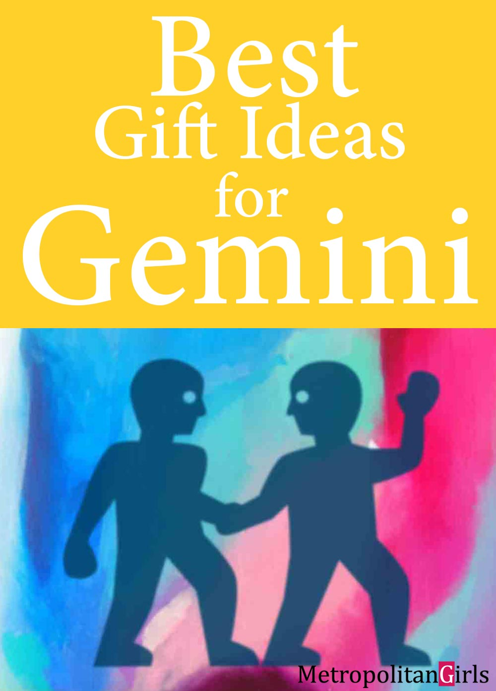 What does Gemini like for their Christmas for Birthday gift? Get gift ideas that a Gemini will like in this gift guide.