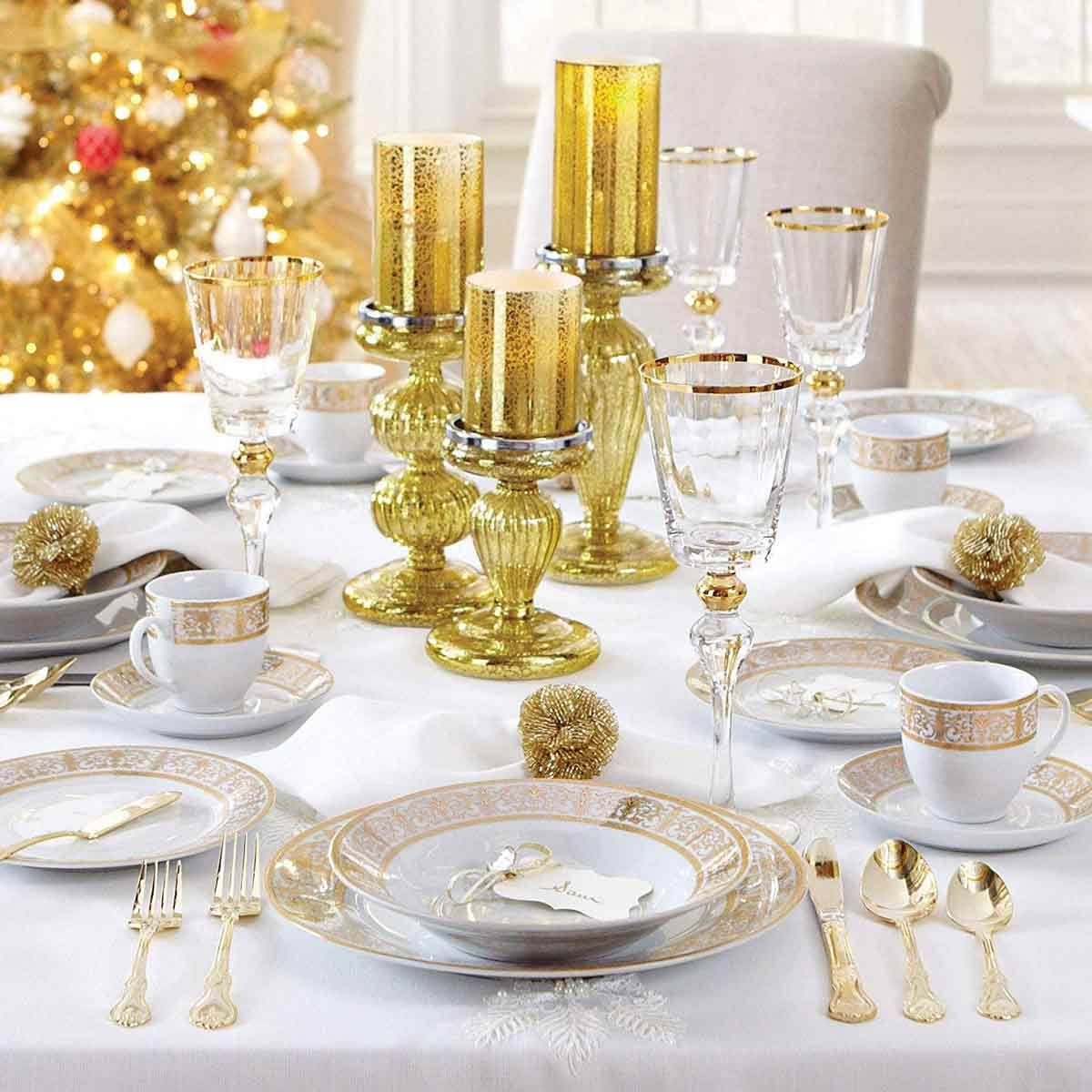 best-gifts-for-libra-luxurious-dinnerware-set