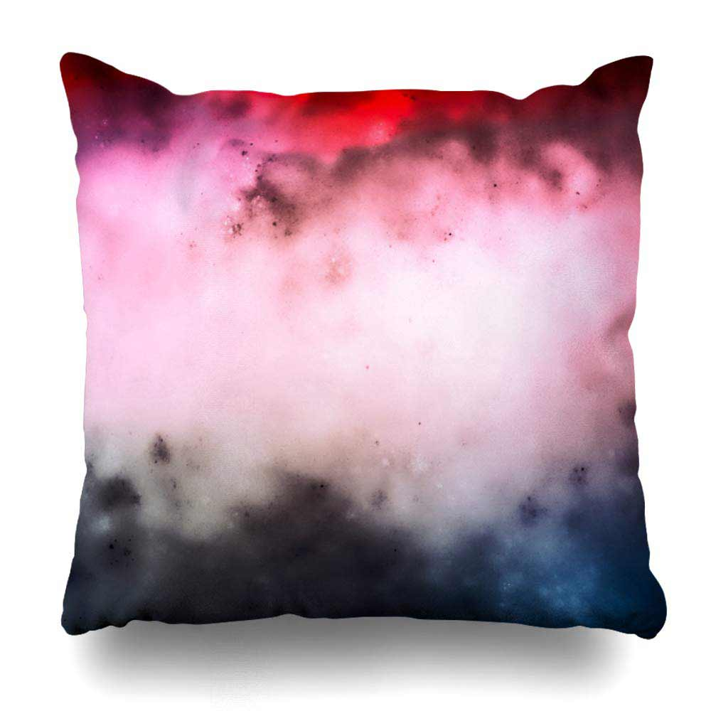 Ethereal Throw Pillow Pastel Pink