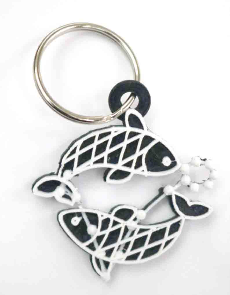 Pisces The Fish Keychain