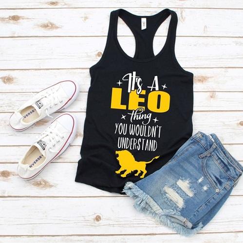 Leo Zodiac Shirt
